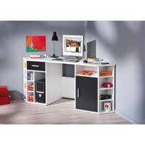 bureau d angle noir laqué bureau angle blanc achat bureau angle blanc pas cher rue du