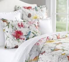 Pottery Barn - Spring 2017 D1 - Hummingbird Reversible Printed ... Duvet Bright Pottery Barn Duvet Covers Discontinued 12 Purple Quilt Cover Printed Floral Butterfly Bedding Sets Polyester Sunflower Uk Mplate For Girls Room Print On Pretty Paper Cut Freckles Chick Quinns Big Girl Room Jenni Kayne Intriguing What Are Comforters Tags Full Teen King Size Bed Childrens Country Cottage With Bird In D Ps F16 Amazing Organic Mallory
