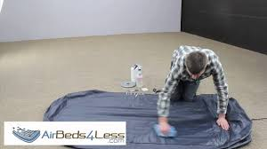 Walmart Inflatable Beds by How To Find A Leak And Patch An Air Bed Mattress Correctly Youtube