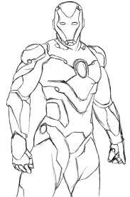Coloriage Iron Man A Imprimer Avengers JeColor 13993