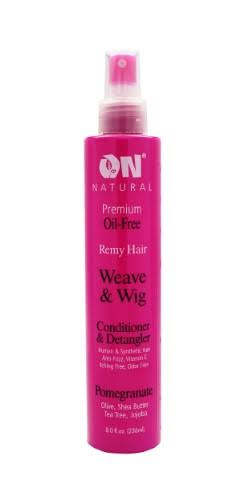 On Organic Weave & Wig Conditioner & Detangler - Pomegranate, 240ml
