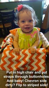 Restaurant High Chair Cover Tutorial - DIY | Sewing For The Young ... Graco Duodiner Lx Baby High Chair Metropolis The Bumbo Seat Good Bad Or Both Pink Oatmeal Details About 19220 Swiviseat Mulposition In Trinidad Love N Care Montana Falls Prevention For Babies And Toddlers Raising Children Network Carrying An Upright Position Boba When Can Your Sit Up A Tips From Pedtrician My Guide To Feeding With Babyled Weaning Mada Leigh Best Seated Position Kids During Mealtime Tripp Trapp Set Natur Faq Child Safety Distribution