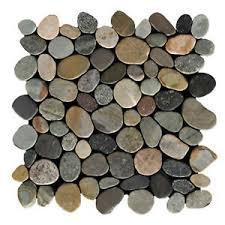 details zu 1 matte k 567 boden wand bad fliesen kieselstein cut earthy naturstein mosaik