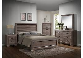 farrow driftwood 8 pc queen bedroom badcock home furniture