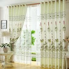 fresh light green polyester style decorative living room
