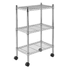 Sandusky Filing Cabinets Canada by Sandusky Mws221333 3 Tier Mobile Wire Shelving Unit With 2