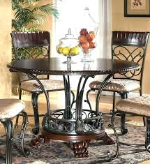 Round Dining Table Ashley Furniture Set Kitchen Inspiring Tables From Discount At Ru