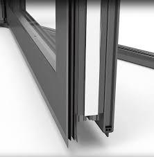 Kawneer Curtain Wall Doors by Residential Bifolding Doors From Kawneer Ats