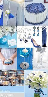 Blue Silver Colour Pallets Grey Weddings Palletsblue
