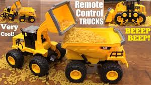 100 Remote Control Trucks For Kids Toy RC Caterpillar Construction