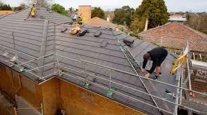 installation roofing monier
