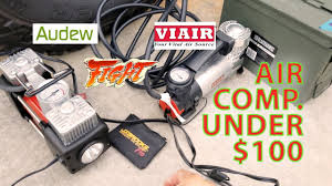 Viair Vs Audew Air Compressor Comparison Under $100 For TRUCK Tires ... Car Air Compressor 12v 4x4 Portable Tyre Deflator Inflator Pump 300l Wabco Semi Truck Big Machine Parts Used Puma Gas At Texas Center Serving Ultimate Ford F150 Safer Towing Better Handling Part 1 On Board Kit Shane Burk Glass And Cummins Ink Air Compressor Deal News China Tire 150 Psi Mounted Compressors Pb Loader Cporation Board Mounted To Truck Frame 94 Gmc Trucks 4wd Using An In A Vehicle