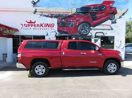 100 Tundra Truck Accessories 2016 Red Toyota Leer 100XR TopperKING TopperKING