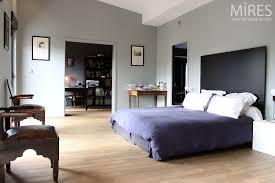 chambre gris et grande chambre gris bleu c0476 mires