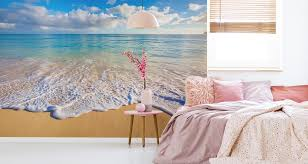 muralo fototapete strand 312 b x 219 h cm vlies tapete wandtapete meer himmel wohnzimmer schlafzimmer moderne wandbilder natur panorama wasser