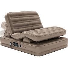 insta bed sup TM sup Raised Insta Flex Queen Air Bed With Built