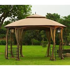 Outdoor: Affordable Way To Upgrade Your Gazebo With Fantastic ... Outdoor Affordable Way To Upgrade Your Gazebo With Fantastic 9x9 Pergola Sears Gazebos Gorgeous For Shadetastic Living By Garden Arc Lighting Fixtures Bistrodre Porch And Glamorous For Backyard Design Ideas Pergola 11 Wonderful Deck Designs The Home Japanese Style Pretty Canopies Image Of At Concept Gallery Woven Wicker Chronicles Of Patio Landscaping Nice Best 25 Plans Ideas On Pinterest Diy Gazebo Vinyl Wood Billys