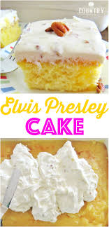 This Elvis Presley Cake starts with a boxed cake mix and topped