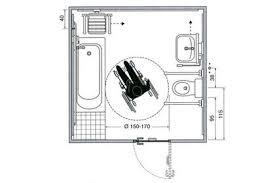 cuisine handicap norme salle de bain norme handicape plan accessible home design nouveau