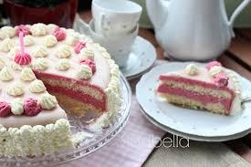 einfache marzipan himbeersahne torte zum geburtstag sasibella