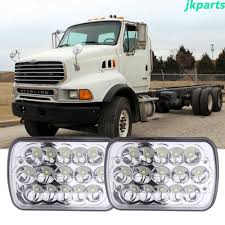 100 Ford Sterling Truck LED Headlight Beam Headlamp Fit For Lt9513 Car