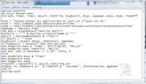 telecharger un bloc note pour le bureau un script vbs pour mesurer le temps de émarrage de windows