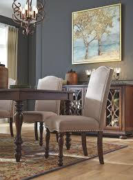 Baxenburg Dining Room Chair (Set Of 2), Brown | Products | Dining ... Chair Leather High Back Chairs Living Room Accent Wingback Hcom Vintage Wing Tufted Brown Or Grey Home Done 2 Ding Upholstered Durable Top Grain Armchair Shop Belleze Extra Overstuffed Contemporary Full Recliner Chesterfield Embroidered Elements Queen Buy Fniture Elegant Appearance Product 10 Funiture Armless With Very Short Wooden Bellagio And Mattress Store 20 Best Of Modern For Guiadokartingeu Ottoman For Sale At 1stdibs