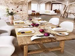 Wonderful Dining Room Decor With Christmas Dinner Decoration Ideas Stunning Dinning Design Rustic