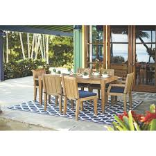 7 Piece Patio Dining Set Canada by Home Decorators Collection Bermuda 7 Piece All Weather Eucalyptus