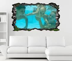3d wandtattoo sport baby schwimmen wasser fitness gesundheit selbstklebend wandbild wandsticker wohnzimmer wand aufkleber 11o1030 wandtattoos und