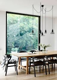 Black Kitchen Table Decorating Ideas by Best 25 Scandinavian Dining Table Ideas On Pinterest