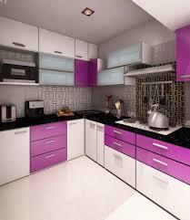 Small Purple Kitchen Cabinets Kitchen Design Ideas
