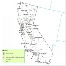 California City Map Maps
