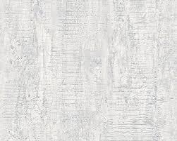vliestapete stein optik putz hellgrau weiß 94426 3