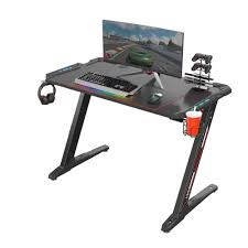 Eureka Ergonomic® Z1-S Gaming Desk With LED Lights, Controller Stand, Cup  Holder & Headphone Hook - Black Best Gaming Computer Desk For Multiple Monitors Chair Setup Techni Sport Collection Tv Stand Charging Station Spkgamectrollerheadphone Storage Perfect Desktop Carbon The 14 Office Chairs Of 2019 Gear Patrol 25 Cheap Desks Under 100 In Techsiting Standing Convters Ergonomic Cliensy Racing Recliner Bucket Seat Footrest Top 15 Buyers Guide Ultimate Buying Voltcave Gaming Chairs Weve Sat For Cnet How To Build Your Own Addicted 2 Diy Dont Buy Before Reading This By 20 List And Reviews
