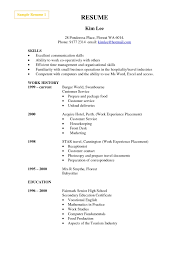 Sample Resume Factory Worker 7 Free Templates Primer Best In Examples For Workers