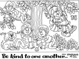 Bible Coloring Pages Friendship Printables And