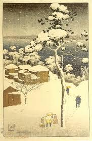 Negishi Japan Woodblock Print By Charles W Bartlett Honolulu Academy Of Arts