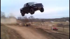 100 Truck Jump Ford Raptor Jumps 90 Feet YouTube