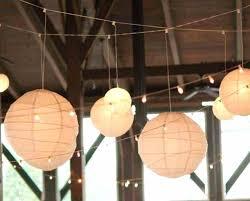 Paper Lantern String Lights Outdoor 21 Paper Lantern String