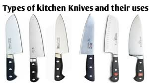 Kitchen Knives Names Types Of Knife And Their Uses All Knife Name Commercial Kitchen Knives