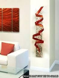 Medium Size Of Modern Abstract Metal Wall Art Blue Ocean Aluminum