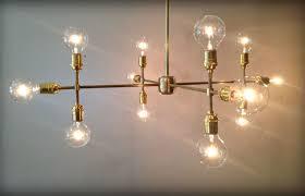lighting fascinating light bulb chandelier 100 watt led