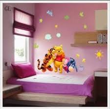 Winnie The Pooh Nursery Decor For Boy by Eozy Winnie Pooh Peel Stick Removable Resuable Wall Sticker Home
