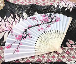 Japanese Cherry Blossom Bathroom Set by Asian Theme Wedding Favors Cherry Blossom Fan Japanese Theme