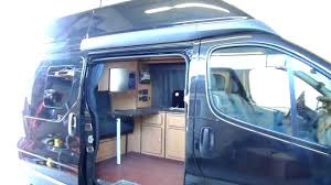 Camper Conversion On A Renault Trafic