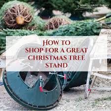 Ace Hardware Christmas Tree Stand by How To Shop For A Good Christmas Tree Stand Marquardt Farms