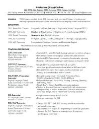 Resumes Samples For Teachers Resume With No Experience Valuable Ideas Teacher Sample Free