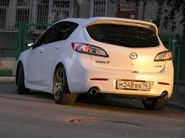 Mazdaspeed3 on Eibach springs Mazdaspeed 3 Pinterest