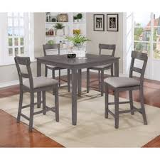counter height grey kitchen dining room sets you ll love wayfair